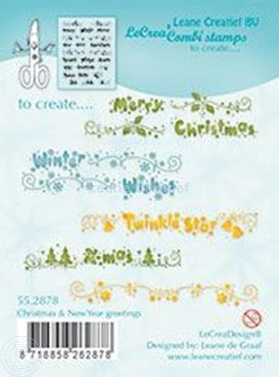 Bild von Christmas & New Year Greetings