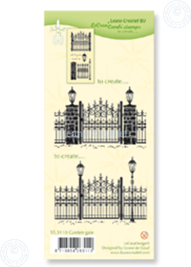 Afbeelding van Combi stamp Garden gate