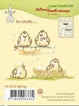 Afbeeldingen van Combi stamp Spring
