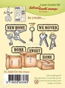 Bild von Combi stamp On the move