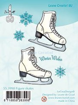 Picture of Clear stamp Figure skates