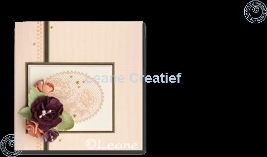 Bild von Combi stamp Lace oval roses