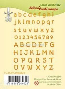 Afbeeldingen van Clear stamp Alphabet