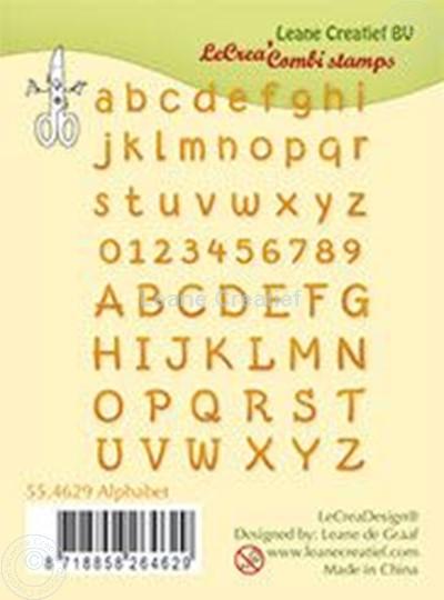 Image sur Clear stamp Alphabet