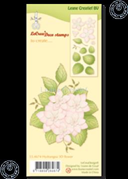 Afbeeldingen van Clear stamp  Hydrangea 3D flower