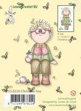 Image de Clearstamp Bambinie´s B005 Christmas boy