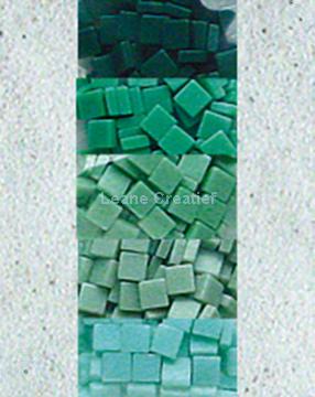 Image de LeCreaDesign® sachet de mosaïque II vert mer