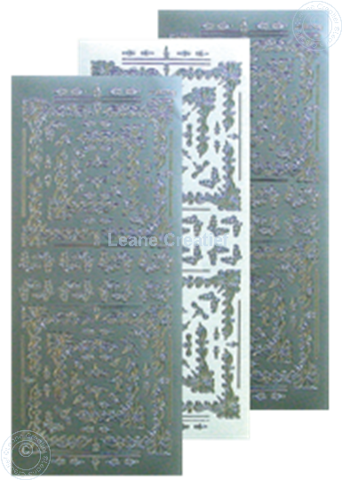 Picture of LeCreaDesign® Embroidery Sticker silver