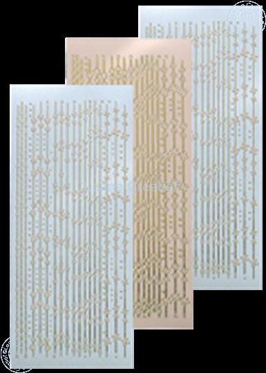 Image sur Sticker de lignes skin
