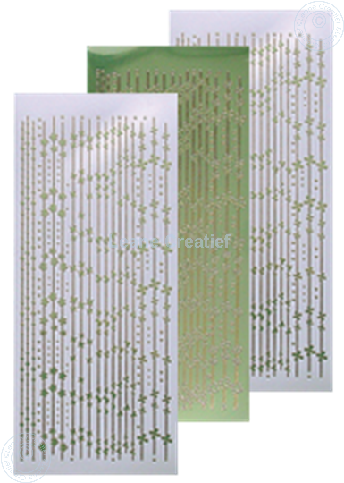 Image sur Sticker de lignes mirror apple