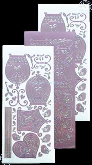 Image sur LeCreaDesign® sticker de volière mirror candy