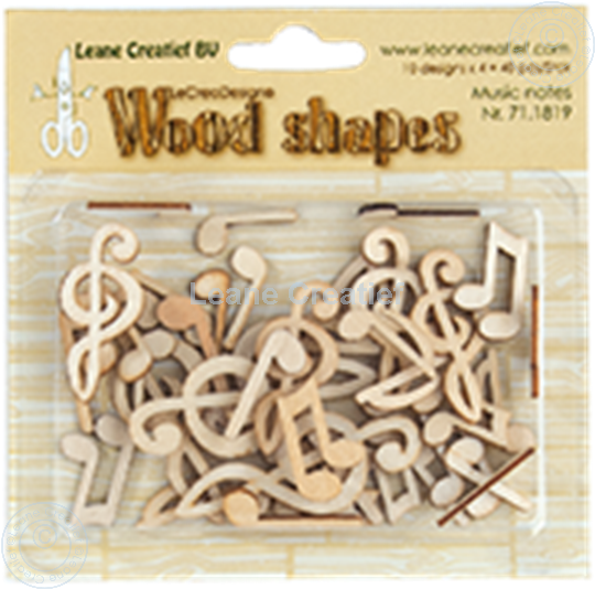 Image sur Woodshapes Music notes