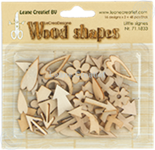 Picture of Woodshapes Little Signs