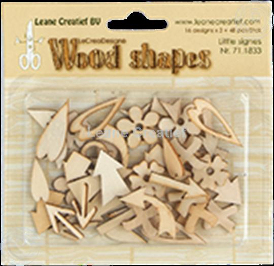 Image sur Woodshapes Little Signs