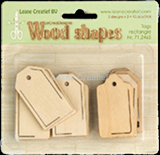 Afbeelding van Woodshapes Tags rectangle