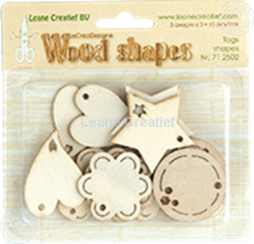 Afbeeldingen van Woodshapes Tag shapes