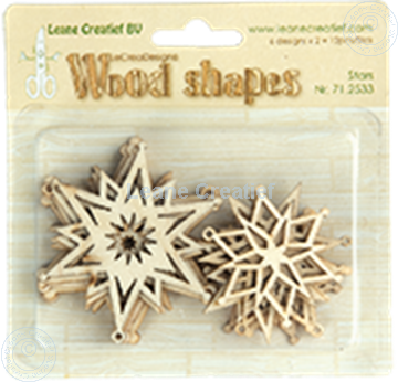 Picture of Woodshapes Stars