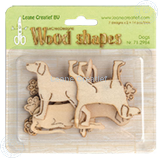 Image sur Woodshapes Dogs