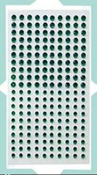 Afbeeldingen van LeCreaDesign® Stras steentjes groen