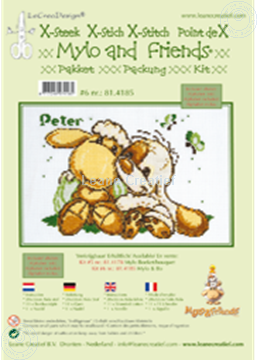 Image de Mylo & Friends® kit Point de croix #6