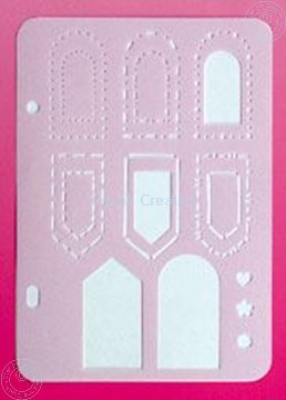 Picture of LeCreaDesign® labels stencil