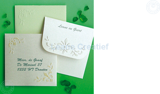 Picture of LeCreaDesign® Envelope stencil 14,5x14,5cm