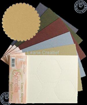 Afbeeldingen van LeCreaDesign® Spirella variaties goud