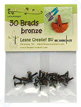 Image de 30 Brads bronze 5mm