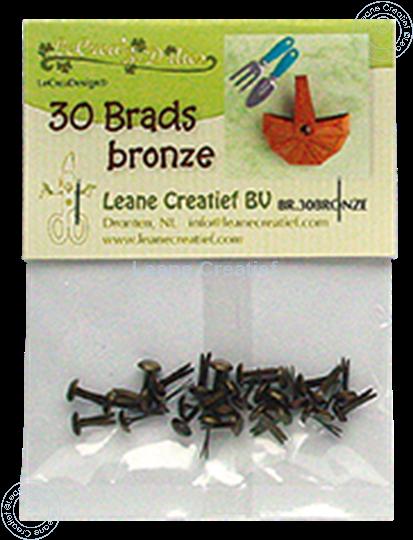 Image sur 30 Brads bronze 5mm