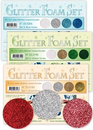 Image de la catégorie Glitter Foam sets