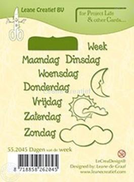 Image de Dagen van de week NEDERLANDS