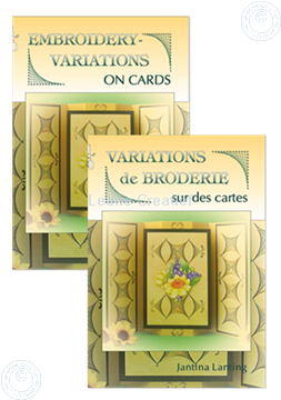 Afbeeldingen van Embroidery variations on Cards (Engels/Frans)