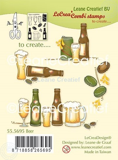 Picture of Combi clear stamp Beer