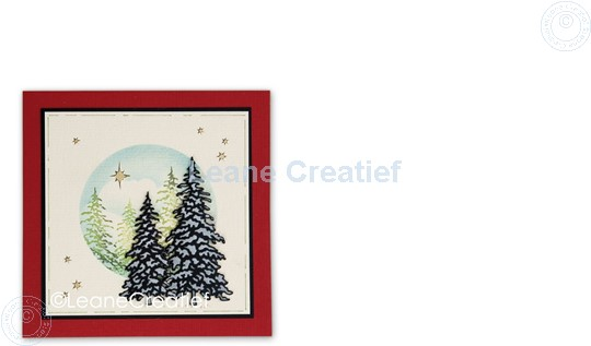 Picture of Set Lea'bilitie & Clearstamp Christmas trees