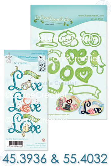 Picture of Set Lea'bilitie & Clearstamp Love