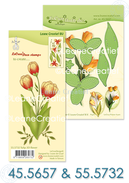Image de Set Multi Die & Clearstamp Tulip