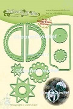 Picture of Lea'bilitie® Glitter Foam decoration Ornament(ball) wave cutting die