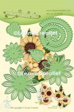 Picture of Lea'bilitie® Multi die 019 Sunflower  3D  cut and embossing die