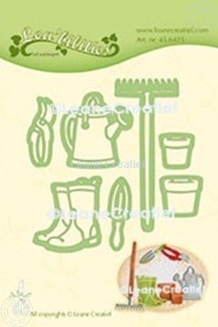 Picture of Lea'bilitie® Garden Set Watering can cut and embossing die