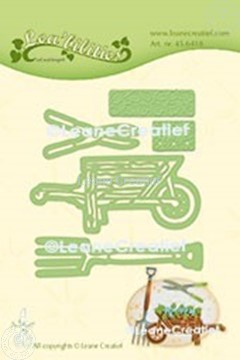 Image de Lea'bilitie® Set de Jardin brouette matrice pour découper & gaufrage