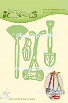 Picture of Lea'bilitie® Garden Set Lawn mower cut and embossing die