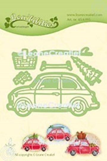 Bild von Lea'bilitie® Auto Fiat 500 Präge- und Schneideschablone