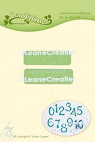 Bild von Lea'bilitie® Ziffer Schneideschablone