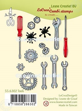 Picture of LeCreaDesign® clear stamp Tools