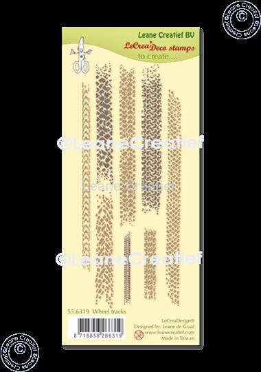 Bild von LeCreaDesign® Silikon Stempel  Reifenspure