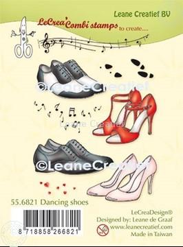 Bild von LeCreaDesign® Kombi Silikon Stempel Tanz Schuhe