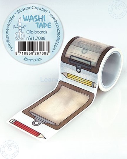 Picture of Washi tape Clip boards, 45mm x 5m.