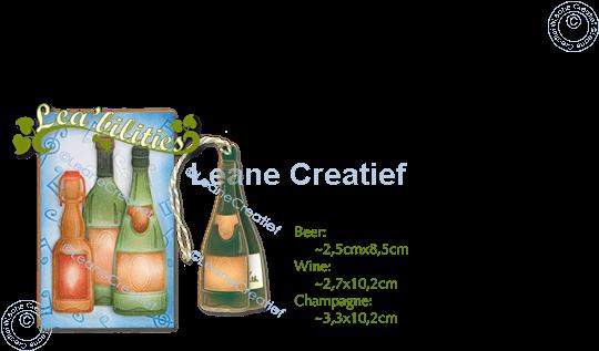 Afbeelding van Lea'bilitie® Flessen  snij en embossing mal
