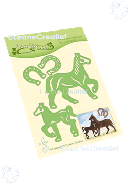 Picture of Lea'bilitie® Horse & Foal cut and embossing die