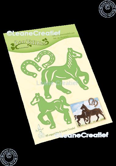 Afbeelding van Lea'bilitie® Paard & Veulen snij en embossing mal